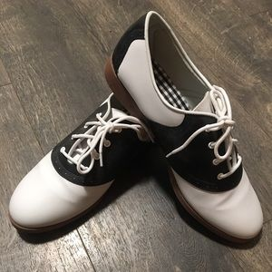 Shoes - Women's Size 11 Saddle Shoes...Worn Once
